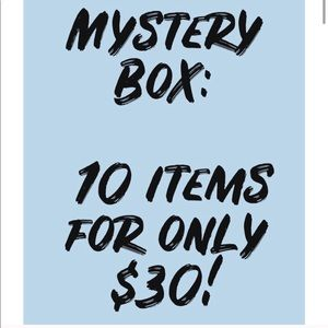 Mystery Box 10 items for $30